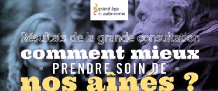Agnès Buzyn dévoile les tout premiers résultats de la grande consultation : «Comment mieux prendre soin de nos aînés?»