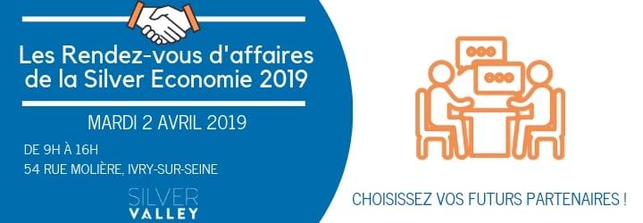 Les RDV d'affaires de la Silver Economie 2019 @ 54 rue Molière