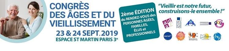 Congrès des âges et du vieillissement @ Espace Saint Martin