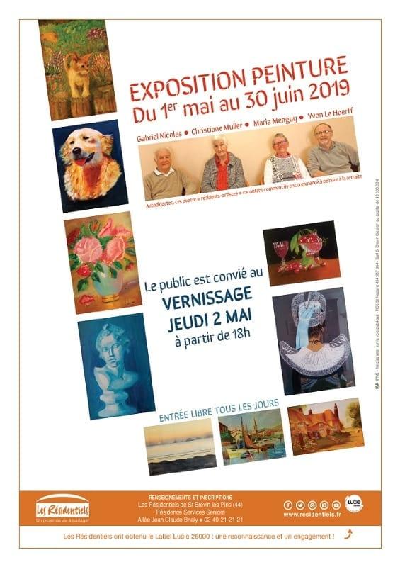 Exposition Peinture @ Les Résidences de St Brevin les Pins