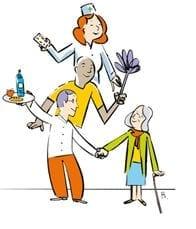 CP - maisons de retraites en fête - fête des voisins