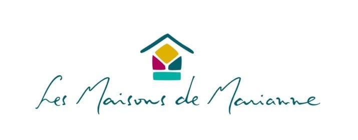 logo - les maisons de marianne