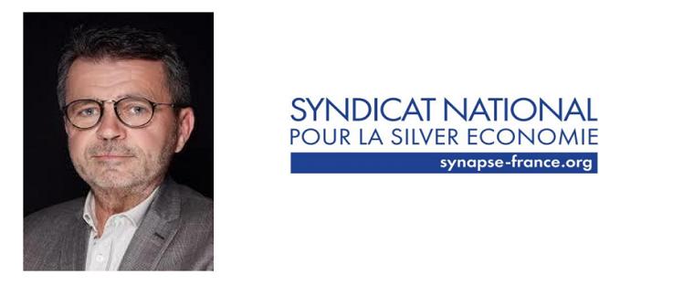 Arnaud DUGLUÉ succède à Benoît GOBLOT à la présidence du Syndicat National pour la Silver Economie