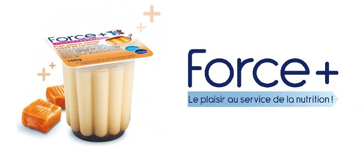 On a testé pour vous : le flan à la vanille Force + contre la dénutrition !