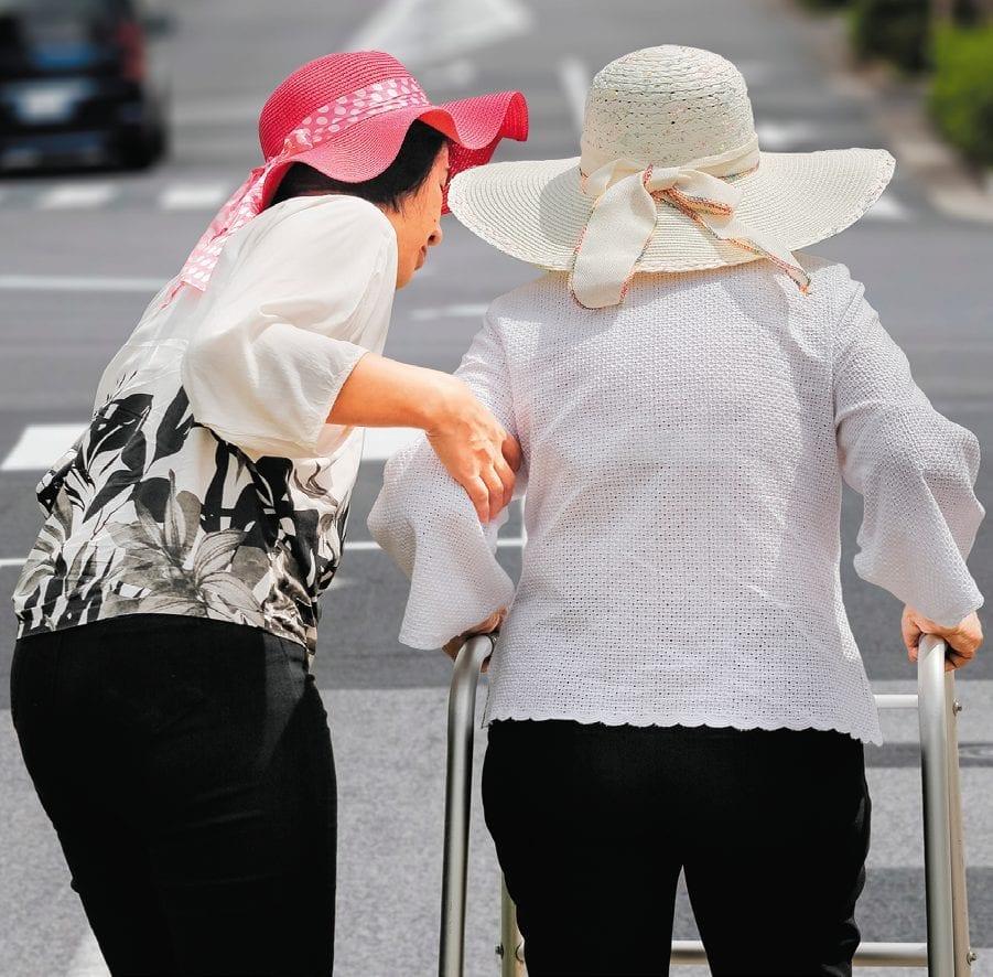 mobilité des seniors - japon - aide