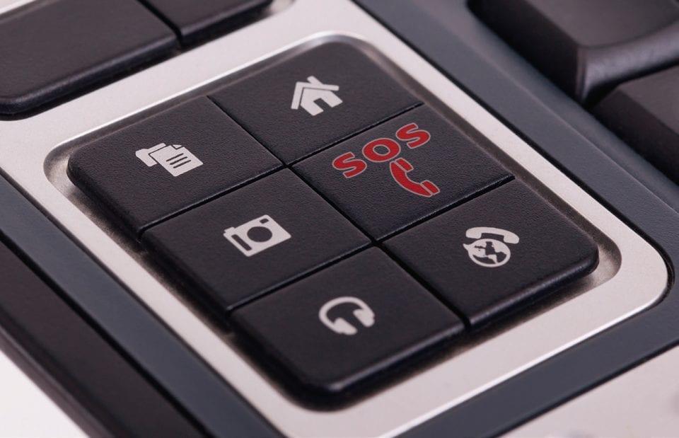 téléassistance - solution - clavier