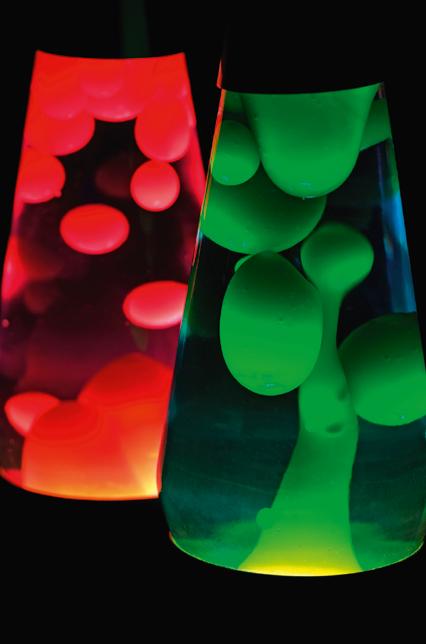 lampe à bulles