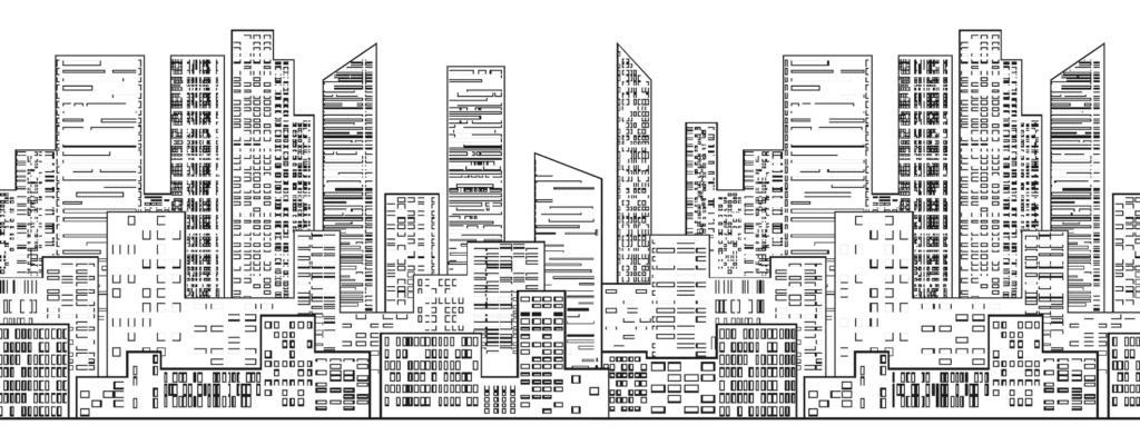 ville - urbanisme - dessin