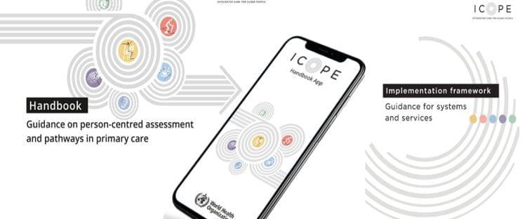 ICOPE Handbook App, application, infographie