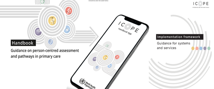 ICOPE Handbook App, application, infographie
