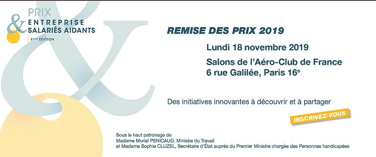 4ème édition du Colloque et Prix Entreprise & Salariés Aidants @ Salon de l'Aéro-Club de France