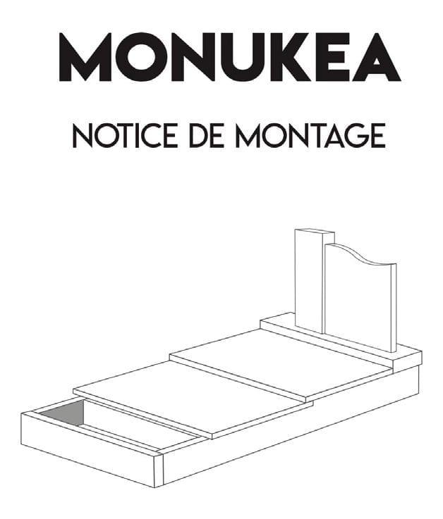 Notice de montage d'un cercueil à fabriquer soi-même inspirée des notices IKEA.