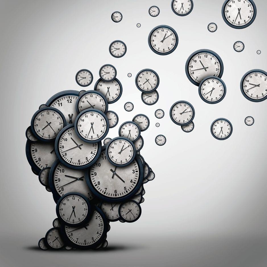 Illustration du temps qui passe.