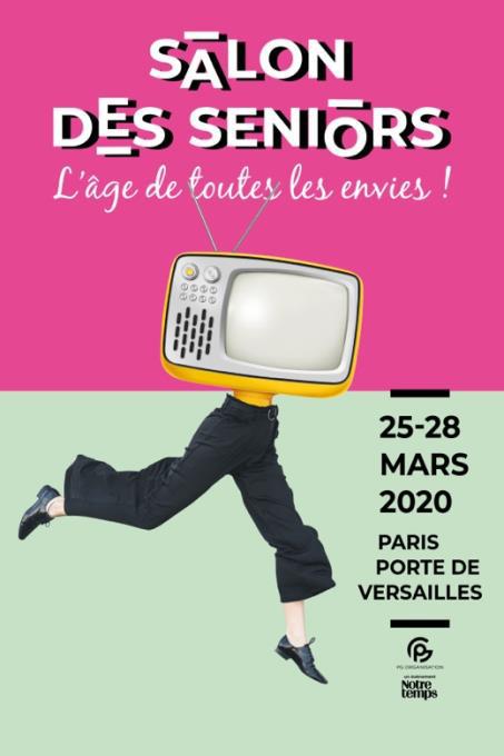 Salon des Seniors 2020 @ Paris, Porte de Versailles - Pavillon 7.1