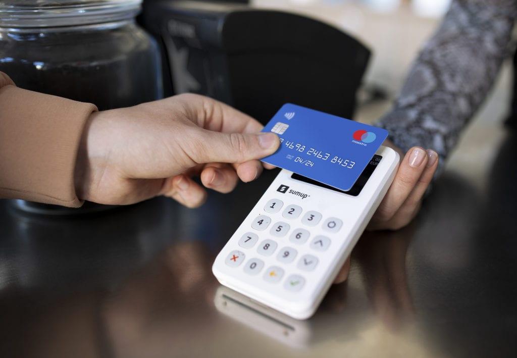 SumUp - carte bancaire - paiement