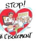 «Stop à l'isolement» : Une page de soutien aux personnes âgées isolées et aux professionnels qui les accompagnent