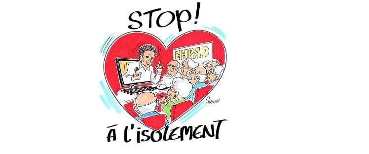 stop à l'isolement - Delphine Dupré-Lévêque