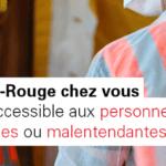 Covid-19 : Le dispositif «Croix-Rouge chez vous» est adapté aux personnes sourdes et malentendantes