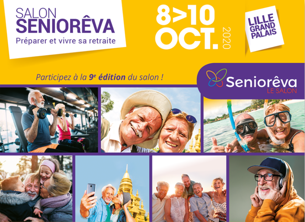 9ème édition du salon SenioRêva @ Grand Palais de Lille