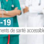 COVID-19 – Accéo facilite l'accessibilité des établissements de santé