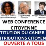 États Généraux de la séniorisation de la société : présentation officielle du premier rapport citoyen dans le cadre d'une visioconférence grand public
