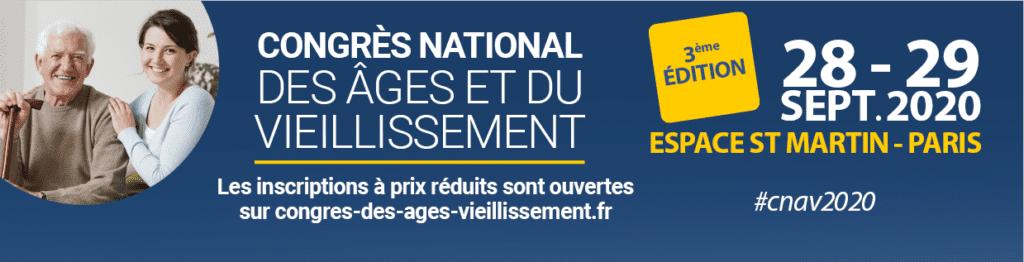 3ème édition du Congrès National des Âges et du Vieillissement @ Espace St Martin - Paris