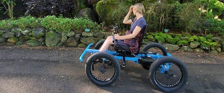 «The Rig» : Un nouveau moyen de transport tout terrain pour les personnes atteintes de paralysie des membres inférieur