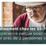 [Etude] Le confinement chez les 55-70 ans : Une expérience perçue positivement pour près de 2 personnes sur 3