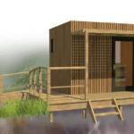 Greenkub lance un modèle de maison de jardin destinée aux personnes âgées