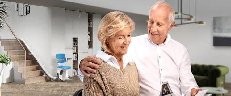 Avec sa nouvelle gamme de monte-escalier, thyssenkrupp Home Solutions innove pour la mobilité à domicile